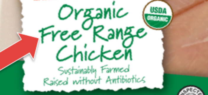 Free Range Chicken Label